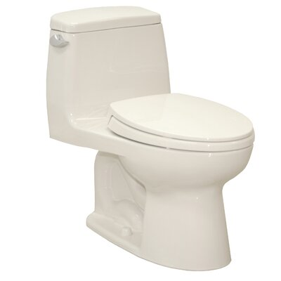 UltraMax® Eco 1.28 GPF Elongated 1 Piece Toilet with SoftClose Seat Product Photo