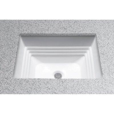 Promenade Undercounter Bathroom Sink by Toto