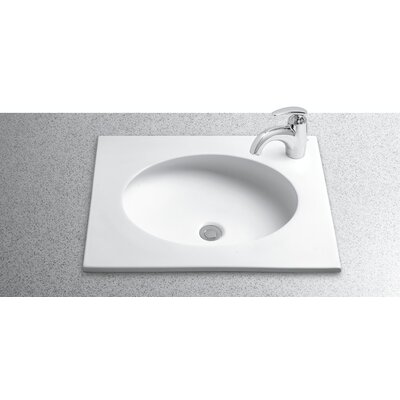 Toto Curva Self Rimming Bathroom Sink