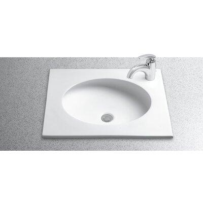 Toto Curva Self Rimming Bathroom Sink & Reviews Wayfair