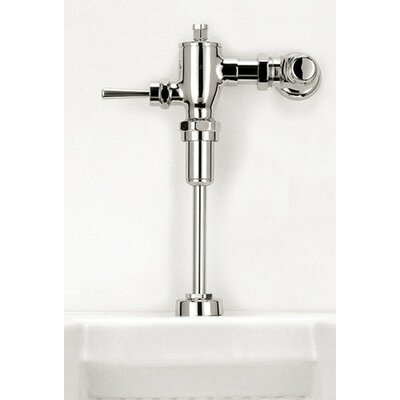 Toto High Efficiency Manual Urinal Flushometer Valve with Accessory Kit in Polished Chrome