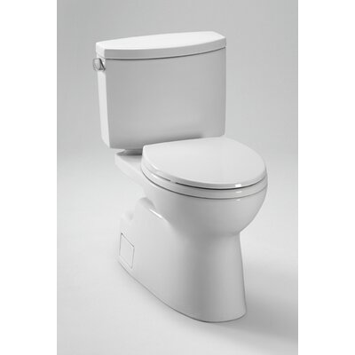 Vespin II High Efficiency 1.28 GPF Elongated 2 Piece Toilet with SanaGloss Glaze Product Photo