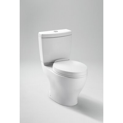 "Aquia Dual Flush 1.6 GPF / 0.9 GPF Elongated 2 Piece Toilet with 12"" Rough-In Product Photo"