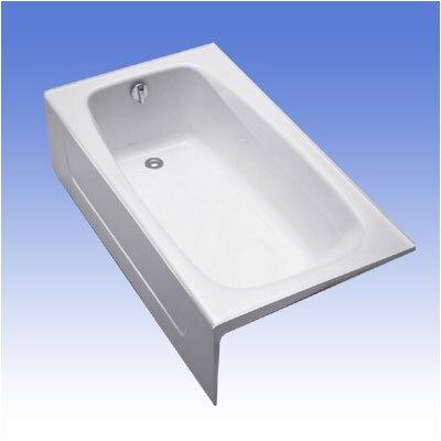 """Enameled 60"""" x 32"""" Soaking Bathtub Product Photo"""