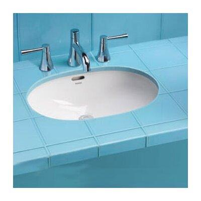 Toto Augusta Decorative Rimless Undermount Bathroom Sink With Sanagloss Glazing Reviews Wayfair