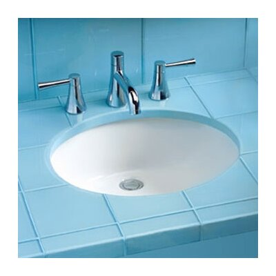 Rendezvous Undermount Bathroom Sink with SanaGloss Glazing by Toto