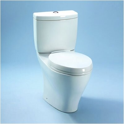 Aquia II Dual Flush 1.6 GPF / 0.9 GPF Elongated 2 Piece Toilet Product Photo