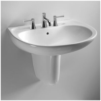 "Supreme 22"" Wall Mount Bathroom Sink with Shroud Product Photo"
