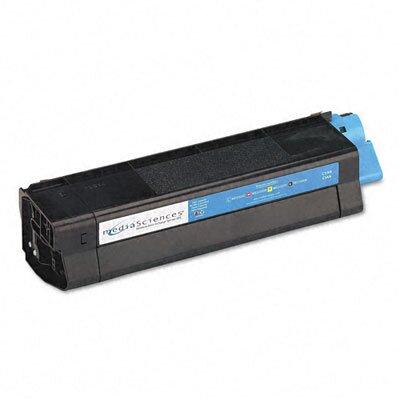 Media Sciences MS5000C (42127403) Toner Cartridge, High-Yield, Cyan