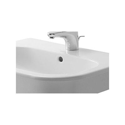 Duravit D-Code Bathroom Sink with Overflow