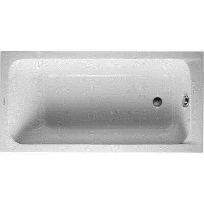 D-Code Drop-In Acrylic Bathtub Product Photo