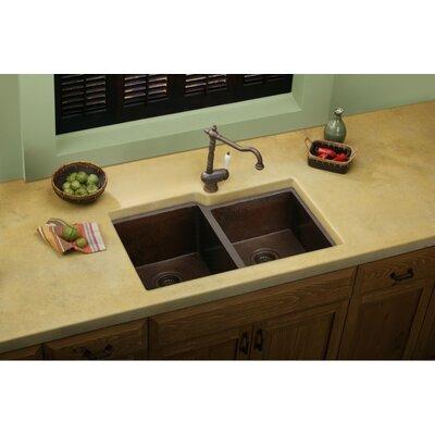 "Elkay Avado 31.25"" x 20.5"" Double Bowl Kitchen Sink"