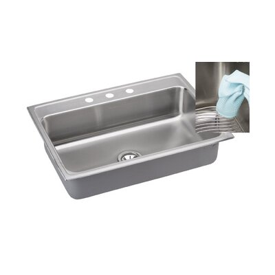 "Elkay Gourmet 31"" x 22"" E-Dock Kitchen Sink"