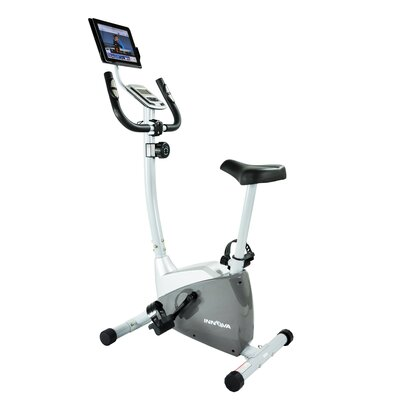 Innova EB550 Upright Bike with iPad / Android Tablet Holder by Innova Fitness