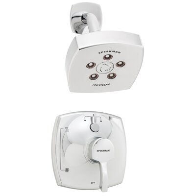 Tiber Pressure Balance Diverter Shower Faucet Product Photo