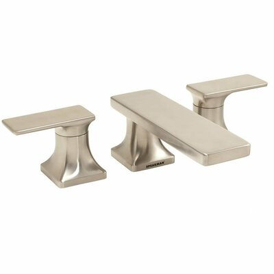 The Edge Double Handle Widespread Roman Tub Faucet Product Photo