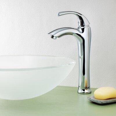 Keila Single Lever Deck Mount Vessel Faucet with Pop-Up Drain Product Photo