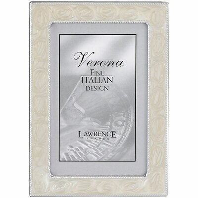 Bead Border Metal Picture Frame by Lawrence Frames
