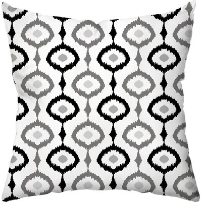 Checkerboard Ikat Outdoor Throw Pillow Amp Reviews Wayfair