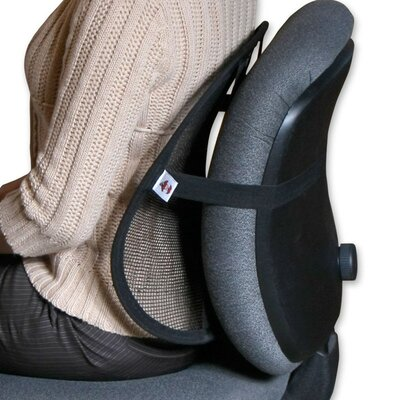 Core Products Mesh Sit Back Rest in Black