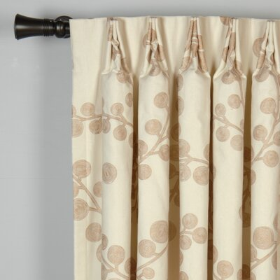 Niche Astaire Cotton Grommet Single Curtain Panel