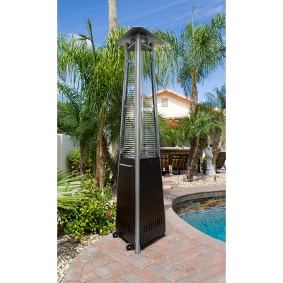 Commercial Glass Tube Propane Patio Heater by AZ Patio Heaters