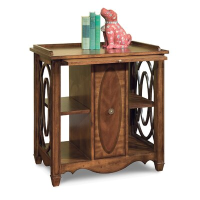 Fairfield Chair Media Storage End Table