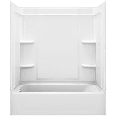 "Ensemble™ Medley™ 60"" x 30"" x 73"" Bath/Shower Back Wall Product Photo"