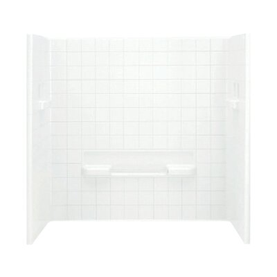 """All Pro 3-Piece 30"""" x 60"""" x 60"""" Wall Set with Age-In-Place Backers Product Photo"""
