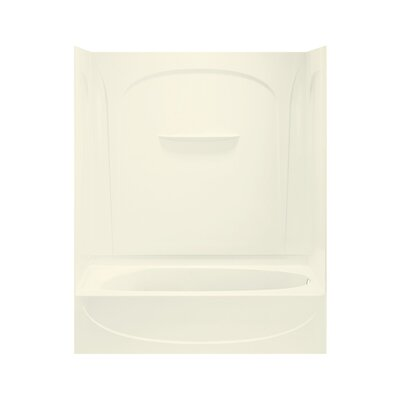 "Sterling by Kohler Acclaim 74-1/4"" Bath/Shower Kit with Age-in-Place Backers and with Right Hand Drain"