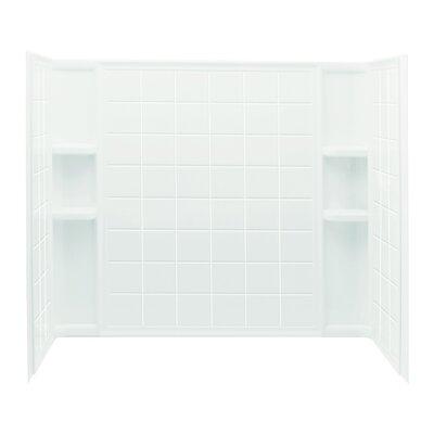"""Sterling by Kohler Ensemble 3-Piece 33.25"""" x 60"""" x 55.25"""" Tile Wall Set"""