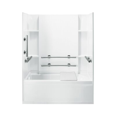 "Accord ADA 32"" Bath/Shower Kit with Left Hand Drain Product Photo"