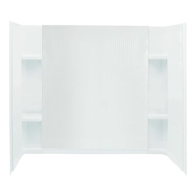 "Sterling by Kohler Accord 3-Piece 32"" x 60"" x 55.25"" Wall Set with Age-In-Place Backers"