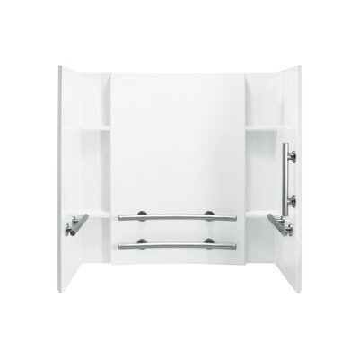 "Accord 3-Piece 32"" x 60"" x 74"" ADA Wall Set Product Photo"