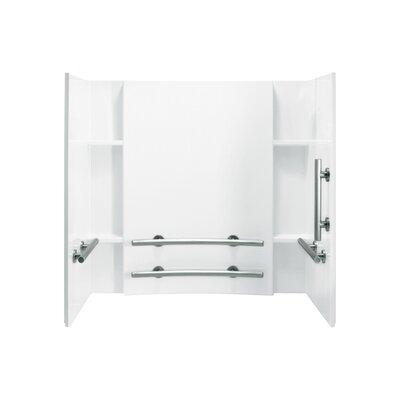 "Accord 3-Piece 32"" x 60"" x 74"" ADA Wall Set Product Photo"