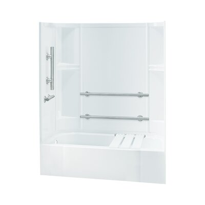 Accord Smooth Series ADA Bath/Shower Kit with Left Hand Drain Product Photo