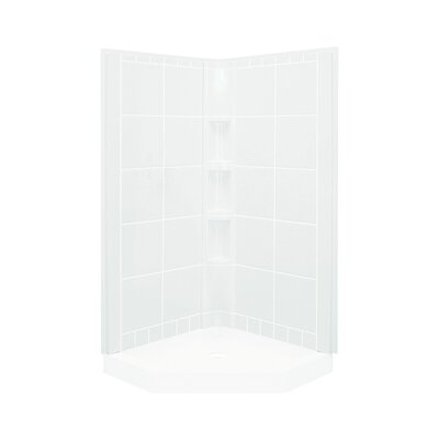 "Intrigue 3-Piece 44.25"" x 40.25"" x 80.125"" Wall Set Product Photo"