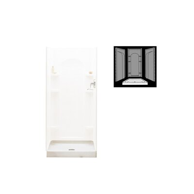 "Ensemble 36"" x 34"" Shower Receptor Kit Product Photo"