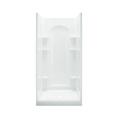 "Ensemble 36"" Curved Shower Kit Product Photo"