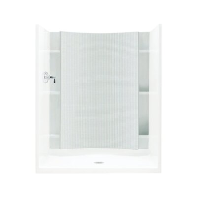 "Accord 1-Piece 48"" x 58"" Back Wall for Alcove Shower with Age-in-Place Backers Product Photo"
