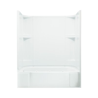 Accord Smooth Series Whirlpool Tub and Walls with Left Hand Drain Product Photo