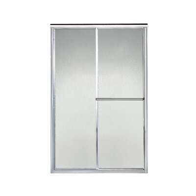 "Deluxe 70"" x 46.5"" Sliding Bypass Shower Door Product Photo"