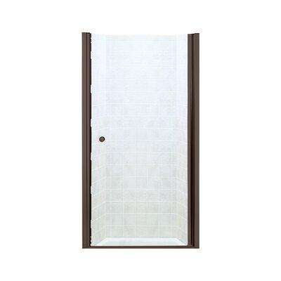 Finesse 58 06 Quot X 59 63 Quot Sliding Bypass Shower Door Wayfair