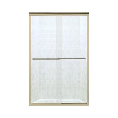 "Finesse 57.5"" x 45.375"" Sliding Frameless Shower Door Product Photo"