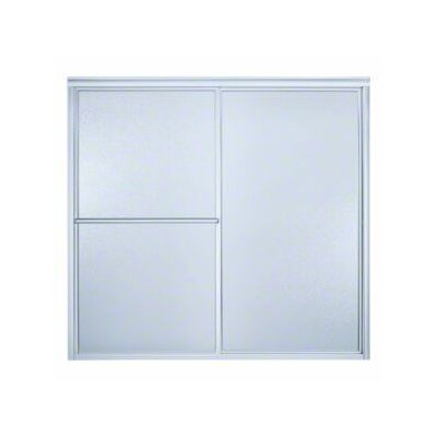 "Sterling by Kohler Deluxe 56.25"" x 57.75"" Sliding Bath Door Left to Right Open"