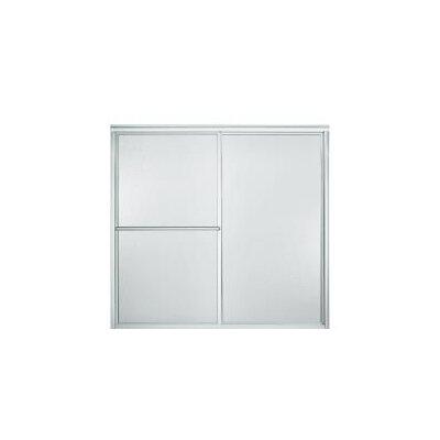 "Deluxe 56.25"" x 59.38"" Sliding Bath Door Left to Right Open Product Photo"