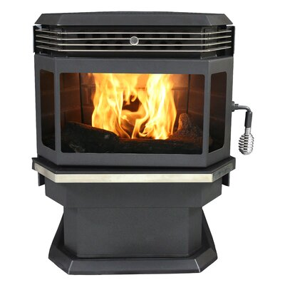Bay Front 2,000 Square Foot Pellet Stove by US Stove