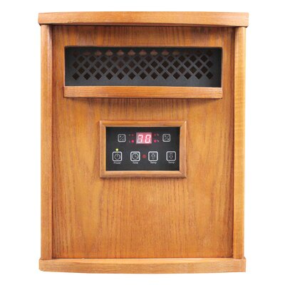 HomComfort 1,500 Watt Portable Electric Infrared Cabinet Heater by US Stove