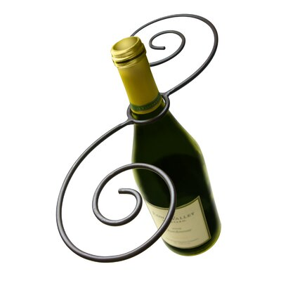 Swirl Wine 1 Bottle Wine Glass Rack by Epicureanist