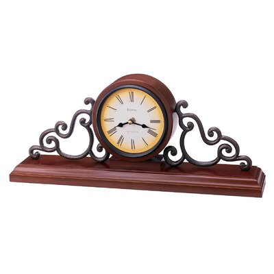Strathburm Mantel Clock by Bulova